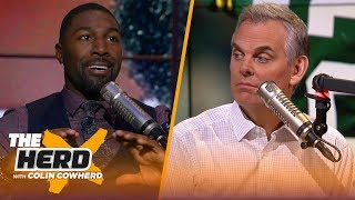 Greg Jennings talks Baker's attitude, Browns' struggles, Dak's payday and Rodgers | NFL | THE HERD