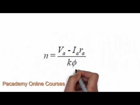 Dc motor speed control  , DC Electric Motors Lecture 7