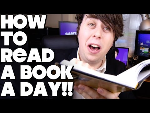 How To Read a Book in 1 Day!!