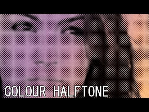 Photoshop CS6 Halftone Pattern Effect