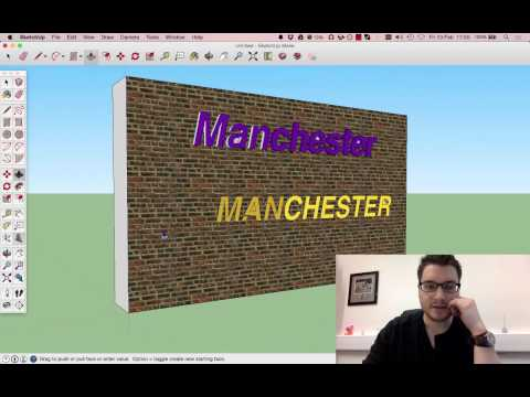 Sketchup Lesson 18: Text