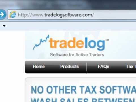 TradeLog Tutorial: Reconciling 1099-B