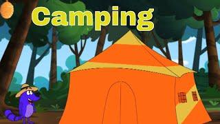 Pyaar Mohabbat Happy Lucky - Ep.10 | Camping | Hindi Animated Cartoon Show | ZeeQ