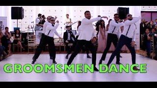 GROOMSMEN DANCE (SHAPE OF YOU, LUV, RUN UP)