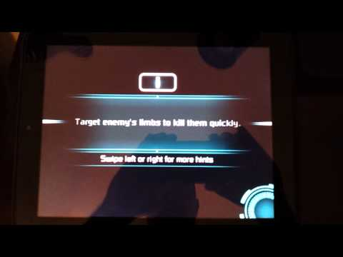 Dead Space Android running on HP Touchpad via CM7