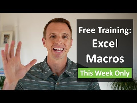Free Webinar: How to use Macros & VBA to Automate Excel
