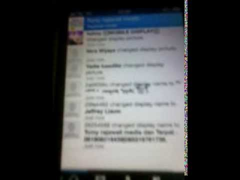 Blackberry Messenger on my Iphone 3Gs (oktober)  VID 20131017 222225 its works