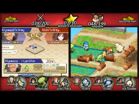 Pokemon Conquest - #17 - [BLIND]: Kiyomasa der Kriegsherr