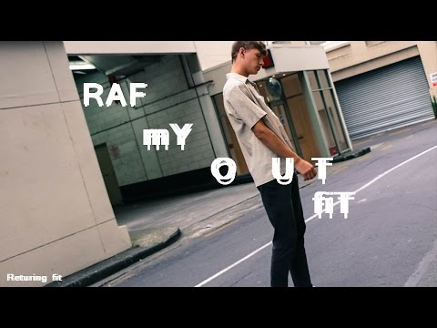 Returing Fit, THE BEST OOTD | RAF SIMONS Thrift look |