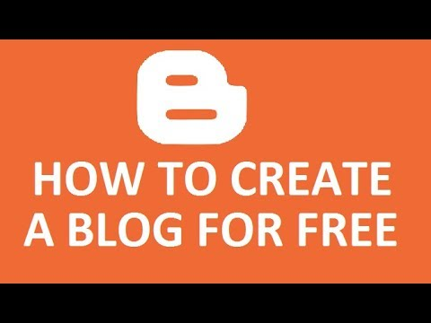 How To Create A Blog Free With Blogger