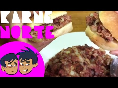 How to Make Karne Norte or Filipino Corned Beef Hash (Budding Foodies)