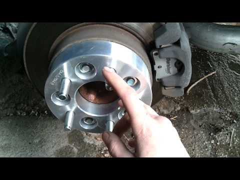How to install wheel spacers
