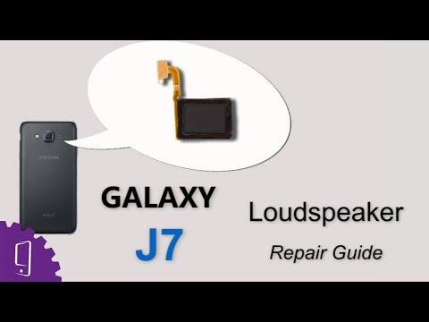 Samsung Galaxy J7 Loudspeaker Repair Guide