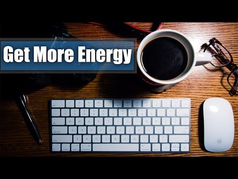 Get More Energy From a Cup of Coffee