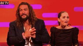 FULL Graham Norton Show 25/10/2019 Jason Momoa, Emilia Clarke, Regina King, Camila Cabello