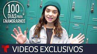 Macarena García habla sobre la escenas de bullying en 100 Días Para Enamorarnos | Telemundo