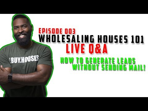 Wholesaling Real Estate - How To Generate Leads Without Sending Mail | Live Q&A with Max Maxwell |
