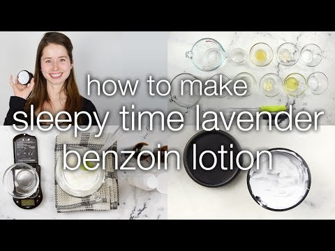 Sleepy Time Lavender Benzoin Lotion: Let's Dupe It! Part 2