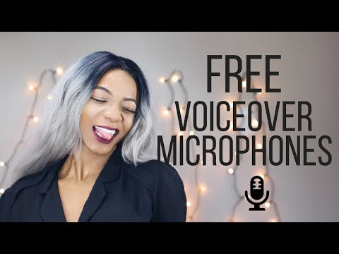 3 Free Things You Can Use For VoiceOvers for Youtube Videos | Annesha Adams