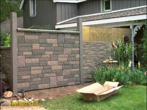 ToolGirl Mag Ruffman - Rock Wall Fence