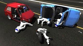 BeamNG.Drive Mod : Fiat 126p/Maluch + Stig Crash Testing #2 HD