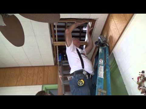 Replacing an exisiting attic stair