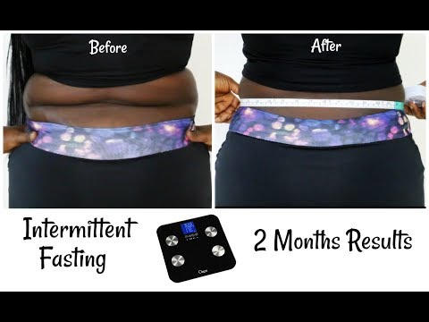 Intermittent Fasting Before and After 2 Month Result Get Rid Of Back Fat Weight Loss Transformation