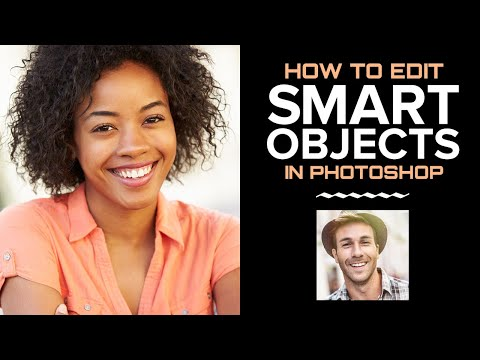 Photoshop Smart Objects: How to EDIT a Smart Object