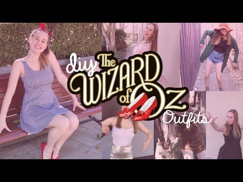 DIY Wizard Of Oz Inspired Outfits Look Book | Costumes With Creatie