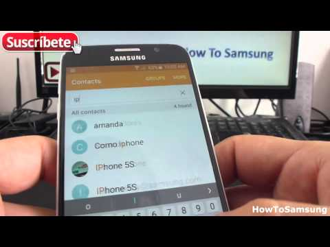 How to delete contacts on my Samsung Galaxy S6 Basic Tutorials