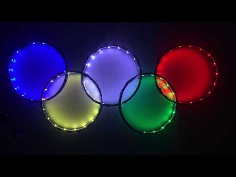 Olympic LED display