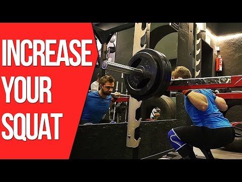 How To Increase Your Squat Fast: The Anderson Squat