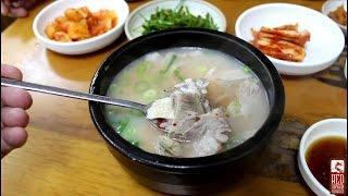 Download Busan Food: Blood Sausage (순대국밥) and Pork Rice Soup (돼지국밥) Video