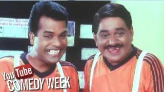 Laxmikant Berde and Bharat Jadhav Comedy Scenes - Khatarnak, Jukebox - 1, Comedy Week
