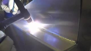 Tig Welding Aluminum Outside And Inside Corner Joints