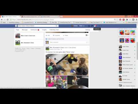Facebook Pages Newsfeed