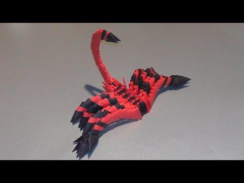3D origami scorpion tutorial (best quality)