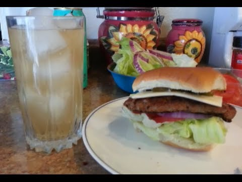 How to make a Jennie O TURKEY BURGER - 99 CENTS ONLY store meal deal recipe