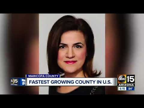 Maricopa County tops list as fastest growing county