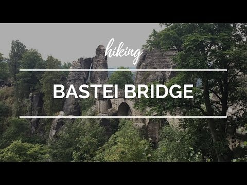 Hiking the Bastei Bridge in Bad Schandau, Germany   Saxon Switzerland National Park