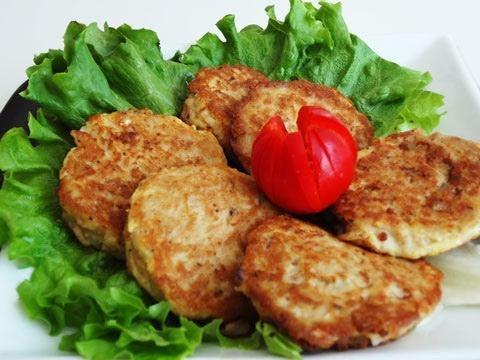 Tuna pancakes (Chamchijeon: 참치전)