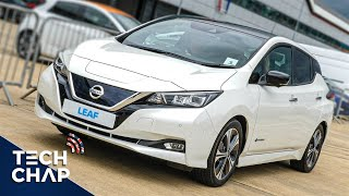 DRIVING the New Nissan LEAF e+ 2019 - I Want One! 😀 #AD | The Tech Chap