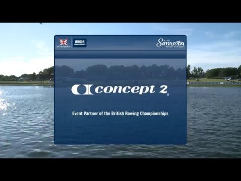 British Rowing Junior Championships Sunday, 16 July