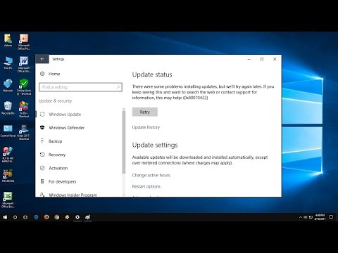 How to Fix All Windows 10 Update Errors (100% Works) 0x80070422, 0x80072ee7, 0x8024a105,802400420