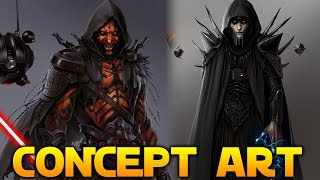 DARTH MAUL GAME CONCEPT - New Images From Cancelled Game