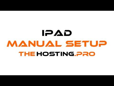 How to setup TheHosting.Pro e-mail account with iPad/iPhone using Manual Setup