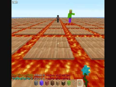 Minecraft - Today: we are playing spleef! ... something like spleef
