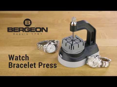 Bergeon 8745 Watch Braclet Link Press Tool  - Swiss Watchmakers Tool Kit