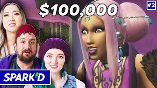 Pro Sims Players Build Supernatural Stories For $100k In The Sims 4• Spark'd Ep. 2