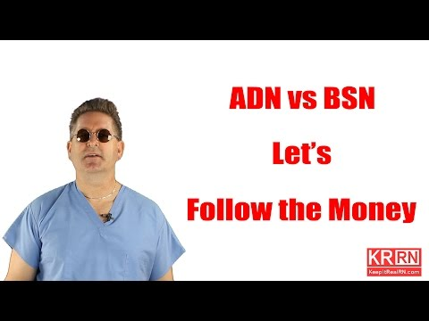ADN vs BSN : Let's Follow the Money